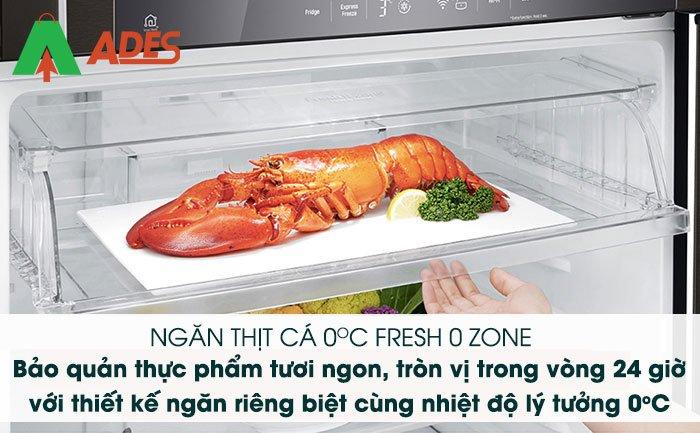 tu lanh lg Inverter gn-d602bl fresh 0 zone